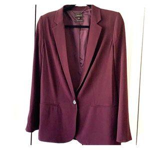 Burgundy Aritzia blazer size 4